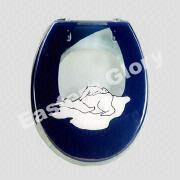 Buy cheap Clear Resin Toilet Seat with Bear --Mun and Son, All Fixing and Instruction Supplied from wholesalers