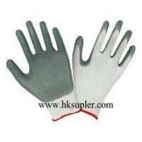 Buy cheap Grey Nitrile Coated Gloves from wholesalers