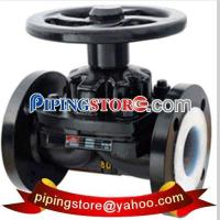 Buy cheap Steel Valves Rubber Lined Diaphragm Valve from wholesalers