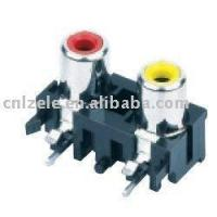 Buy cheap rca plug double jack from wholesalers