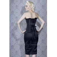 Buy cheap Sexy Black Lace Overbust Gothic Corset from wholesalers