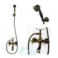 Buy cheap Bathtub Faucet Antique Brass Bath Tub Faucet Shower 5770F from wholesalers