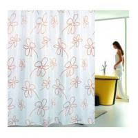Buy cheap Fabric Shower Curtains Classic Small Flower Fabric Shower Curtain T2903 from wholesalers
