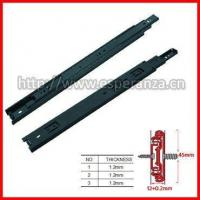 Buy cheap Drawer Slide 45mm Ball bearing drawer slide from wholesalers