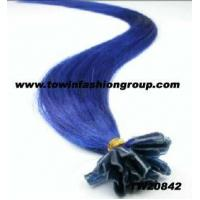 Buy cheap Pre bonded human hair extension nail U-Tip fusion from wholesalers