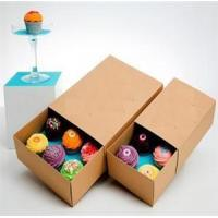 Buy cheap Cupcake Kraft Paper Box from wholesalers
