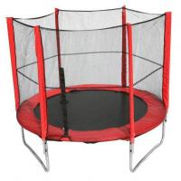 Buy cheap 8FT Trampoline with outside Net&Short Pole from wholesalers