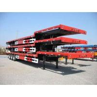 Buy cheap Tri Axle Low Bed Semi Trailer from wholesalers
