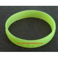 Buy cheap glow in dark silicone bracelets from wholesalers