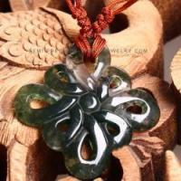 Buy cheap Wholesale Chinese knot moss agate pendant NYAN0092 product