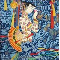 Buy cheap Chinese Modern Painting - Maiden #14 from wholesalers