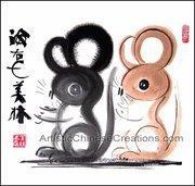 Buy cheap Chinese Zodiac Painting - Rat from wholesalers