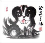 Buy cheap Chinese Zodiac Painting - Dog from wholesalers