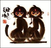 Buy cheap Chinese Zodiac Painting - Monkey from wholesalers