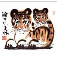 Buy cheap Chinese Zodiac Painting - Tigers #29 from wholesalers