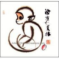 Buy cheap Chinese Zodiac Painting - Monkey #28 from wholesalers