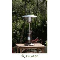 China Copper Finish Table Top Patio Heater Well Traveled Living FireSense 60269 on sale