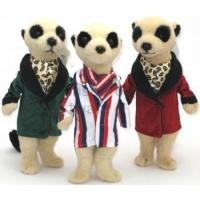 Buy cheap Dressed Meerkats Soft Toys 3 Asstd 14in from wholesalers