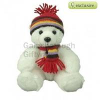 Buy cheap Christmas Polar Bear Soft Toy 8in from wholesalers