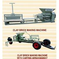 Buy cheap Clay Brick Making Machine from Wholesalers