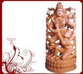 Buy cheap Dancing Shivaparvathi Temple Statue from wholesalers