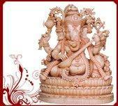 Buy cheap Wooden Ganesh Wall Hangings from wholesalers