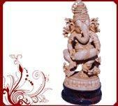 Buy cheap Wooden Ganesh Hindu God Statue from wholesalers