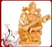 Buy cheap Hindu Goddess Saraswati Statue from wholesalers