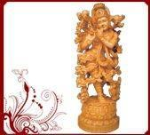 Buy cheap Hindu God Krishna Sculptures from wholesalers