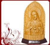 Buy cheap Wood Jesus Sculptures For Sale from wholesalers