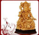 Handcrafted Blessing Hanuman sculpture