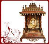 Buy cheap Rosewood Pooja Mandir from wholesalers