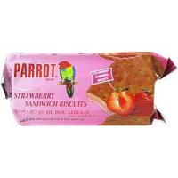 Buy cheap Parrot Brand Strawberry Sandwich Biscuits 7oz. from wholesalers