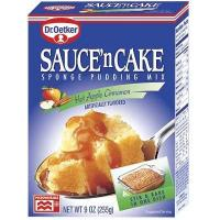 Buy cheap Dr.Oetker Sauce'n Cake Hot Apple Cinnamon Sponge Pudding Mix 9oz. from wholesalers