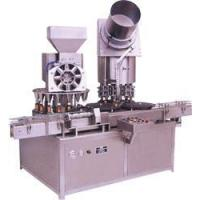 Buy cheap Automatic Monoblock Dry Syrup Powder Filling with eight head ROPP cap Sealing Machine from wholesalers