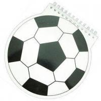 Buy cheap Football Shaped Note Pads from wholesalers