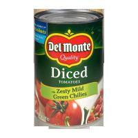 Buy cheap Diced Tomatoes with Zesty Mild Green Chilies from wholesalers