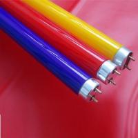 Buy cheap T8 fluorescent 1pages2pages T8 colorful fluorescent tube from wholesalers