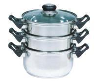 Buy cheap 3-Tier Steamer with Bakelite Handles from wholesalers