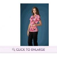 Buy cheap Care 2 Cure Breast Cancer Awareness Print in Two Styles by Cherokee Scrub H.Q. from wholesalers