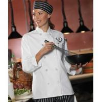 Buy cheap 10 Button Women's Chef Coat from wholesalers
