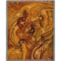 Buy cheap SALE Kokopelli the Ancient Ones Tapestry Throw from wholesalers