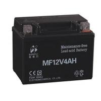 Buy cheap Mootorcyle Battery 12-MF-4AH from wholesalers