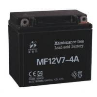 Buy cheap Mootorcyle Battery 12-MF-7-4A from wholesalers