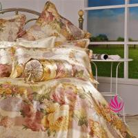 Buy cheap Seamless Silk Charmeuse Bedding Set Printed Pattern BSS047 from wholesalers