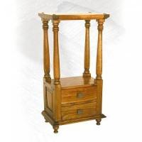 Buy cheap Asian oak Hall stand 1 drw from wholesalers