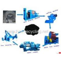 Buy cheap Waste Tire Recycling Line scrap tyre recycling production line from wholesalers