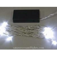 Buy cheap 20L White LED Battery Operated Light With Transparent Cable from wholesalers