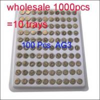 Buy cheap Wholesale 1000 x AG3 LR41 Alkaline SR41 392 196 Watch Clock Button Coin Cell Battery 1.5V from wholesalers