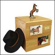 Buy cheap Horse Urns Bay, Rearing - Horse Cremation UrnItem#:PH700-3057 from wholesalers